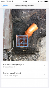 site_report_pro_app_add_new_project_from_photo